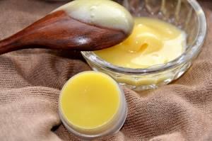 Мазь воск яйцо растительное масло рецепт