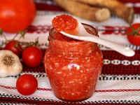 Как готовить огонек на зиму из помидор