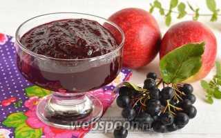 Повидло из яблок и рябины рецепт с фото, как приготовить повидло из яблок и черноплодной рябины на