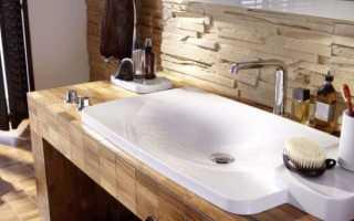 Какую выбрать раковину для ванной