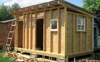Как построить сарай дешево и быстро
