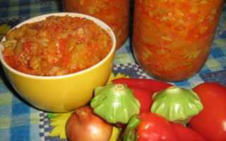 Икра из патиссонов на зиму — Рецепты пальчики оближешь: Простой рецепт с томатной пастой или томатами Видео и Фото