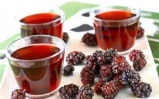 Компот из шелковицы (тутовника): рецепт со смородиной, вишней, без стерилизации