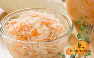 Быстрая квашеная капуста: рецепт в банке без уксуса — Обалдеть