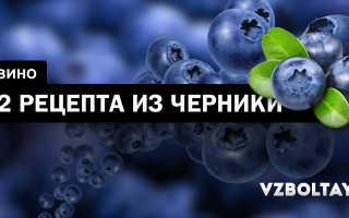Вино из черники: 2 рецепта в домашних условиях