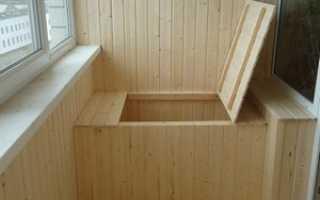 Балконный погребок: как сделать погреб на балконе своими руками, видео
