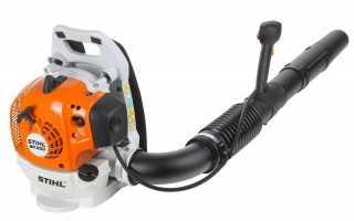 Бензиновая воздуходувка Stihl: обзор моделей, отзывы