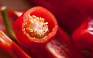Как получить семена перца в домашних условиях