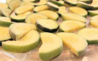Заготавливаем кабачки на зиму грудничку