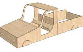 Машина песочница для ребенка, сделанная своими руками — Сделаем мебель сами