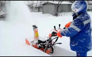 Снегоуборщик Прораб (Prorab): отзывы, характеристика моделей