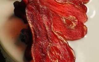 Рецепты и правила приготовления вяленой груши