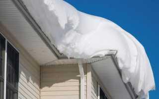 Лопата для уборки снега с крыши