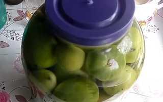 Как сделать бочковые зеленые помидоры?