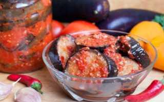 Баклажаны «Огонек» на зиму — рецепты салата без стерилизации, острой ленивой закуски, с помидорами и медом