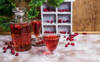 Клюква на спирту: рецепт приготовления в домашних условиях