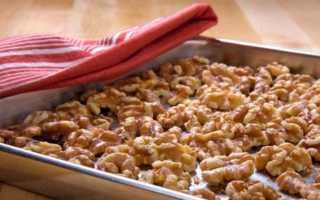 Как сушить грецкие орехи в домашних условиях: в скорлупе, в духовке