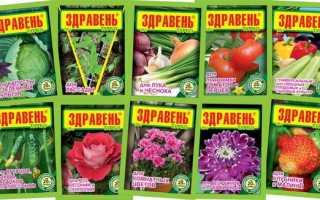 Удобрение здравень: инструкция по применению для томатов и огурцов