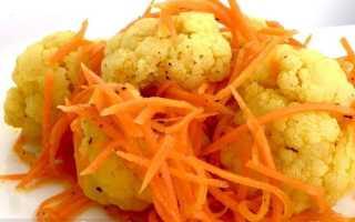 Очень вкусная маринованная цветная капуста по-корейски — Очень вкусно
