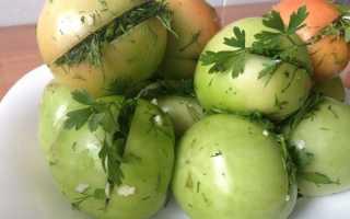 Маринованные зеленые помидоры: способы быстрого приготовления, пошаговый рецепт
