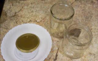 Стерилизация банок в духовке электрической с заготовками