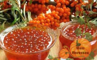 Облепиха с медом на зиму без варки: протертая и с медом