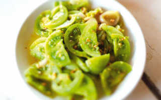 Зелёные помидоры по-корейски, самые вкусные рецепты на зиму