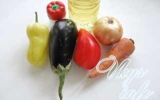 Жареная икра из баклажанов на сковороде, рецепт с фото