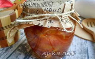 Варенье из персиков дольками на зиму, простой рецепт