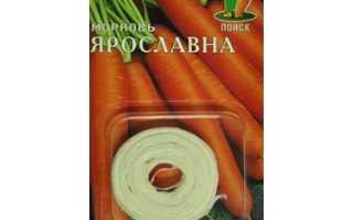Морковь Ярославна Поиск (лента) 8 м купить по цене 26 руб
