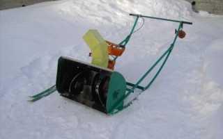 Снегоуборщик своими руками: самодельная ручная снегоуборочная машина на колесах