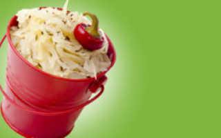 Как засолить капусту в ведре