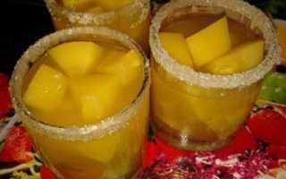 Компот из тыквы на зиму, как ананас