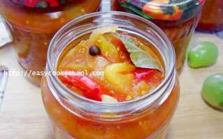 Лечо из зеленых помидоров на зиму: очень вкусное, Легкие рецепты