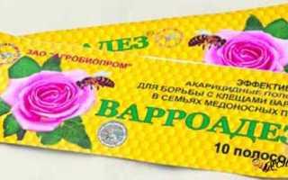 Варроадез: инструкция, действующее вещество, способ применения, отзывы, состав, купить в Украине, цена