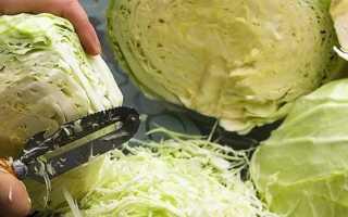 Рецепт капусты с уксусом и сахаром, способ приготовления без уксуса с добавлением соли и моркови