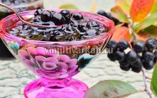 Варенье из черноплодной рябины в мультиварке на зиму, Готовим в мультиварках