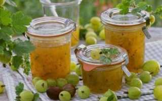 Джем из крыжовника – витаминные заготовки на зиму