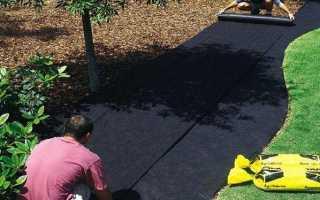Укрывной материал от сорняков черный: отзывы