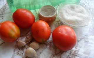 Лучшие рецепты помидоров под снегом с чесноком на зиму с фото пошагово