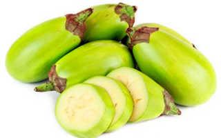 Почему баклажаны зеленого цвета: можно ли есть плоды, описание, сорта, польза и вред