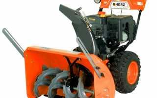 Снегоуборщик бензиновый Herz SB-9EMS технические характеристики, цена, отзывы владельцев