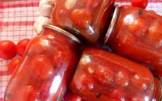 Очень простые и оригинальные рецепты помидоров в томатном соке на зиму