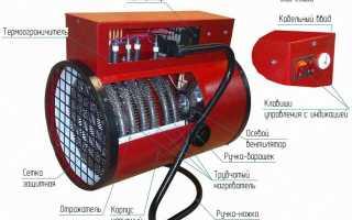 Тепловые пушки электрические: отзывы