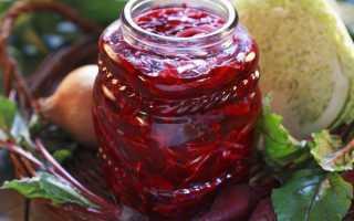 Рецепты зимних заготовок из свеклы: классический, с чесноком и уксусом, приготовление икры