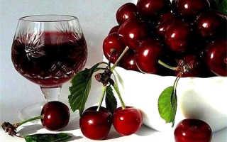 Домашнее вино из черешни: пошаговый рецепт, быстро и просто от Марины Выходцевой