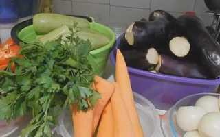 Икра из кабачков и баклажанов на зиму: ТОП-4 рецепта