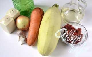 Кабачковая икра с чесноком на зиму рецепт с фото