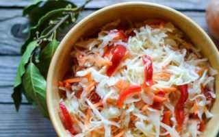 Быстрая маринованная капуста за 2 часа: как приготовить в домашних условиях, варианты подачи блюда, пошаговый рецепт с фото