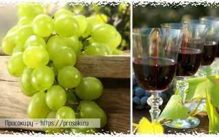 Как в домашних условиях приготовить вино из виноградного сока